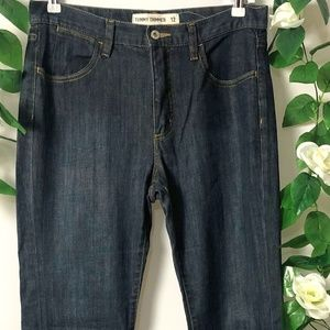 Jeans West Tummy Trimmer  Size 12 Bootleg